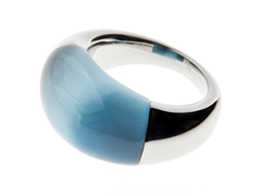 Ellipse Ring, Silver