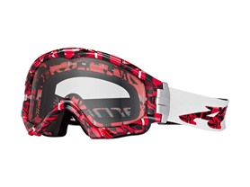 Arnette Series 3 MX Goggles Plaid, Red