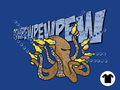 Octopus with Bubble Gun Goes PEWPEW