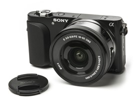 Sony 16.1MP Camera w/ 16-50mm Lens
