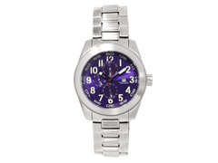 Frontline Swiss Quartz Watch, Purple