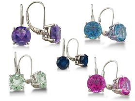Superjeweler Gemstone Earrings - 5 Choices
