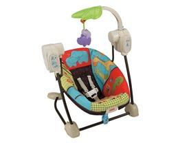 Fisher-Price Luv U Zoo Spacesaver Swing & Seat