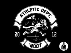 2012 Woot Athletic Dept Pullover Hoodie