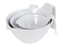 """Hold Me"" Set of 3 Mixing Bowls"