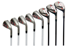 Redline Hybrid Irons 8-piece Set