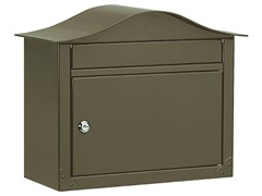 Locking Lunada Wall Mailbox, Bronze
