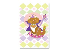 Pretty Kitty Princess Canvas Art