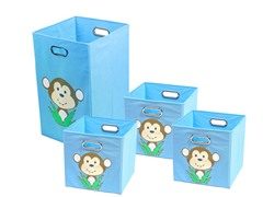 Light Blue Monkey Bundle