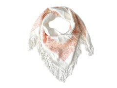 Kitara  Soft Spring Square Scarf Orange