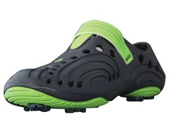 Dawgs Nvy/Grn Golf Shoes (Youth Sizes)