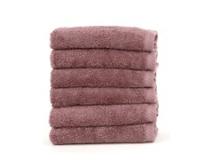 550GSM Soft Twist Washcloths-S/6-6 Colors