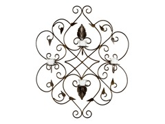 Metal Work Votive Wall Decor
