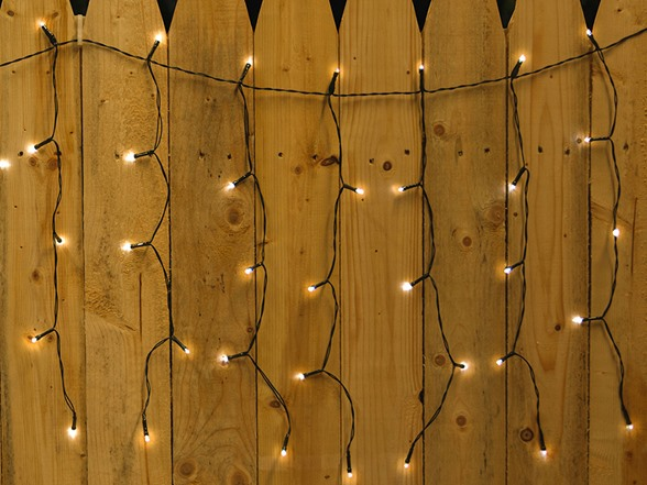 Solar Curtain String Lights : Solar Curtain DROPLITE String Lights
