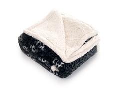 Fleece Sherpa Blanket Throw - Cheetah