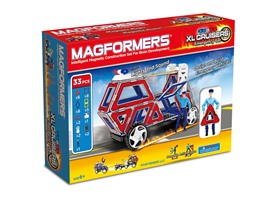 Magformers 33-Pc Cruisers Emergency Set