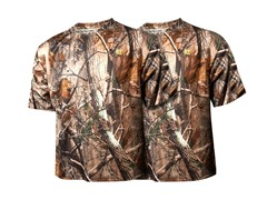 RecTec Men's Camo Short-Sleeve 2-Pack M