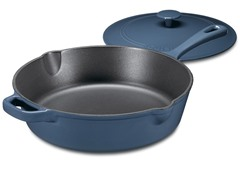 Cuisinart Cast Iron Chicken Fryer - Blue