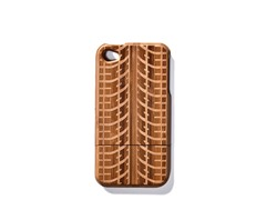 Bamboo Tire Tracks Cover for iPhone 4/4S