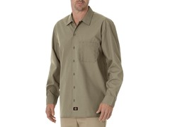 Long Sleeve, One Pocket - Khaki