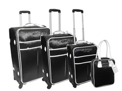 Safiano 4pc Set-Black