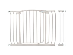 Hallway Gate w/ Extension - White