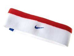 Premier 20 Headband - White/Red/Blue