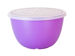 Zak Designs Orchid 1.5 qt Serve Bowl w/Lid