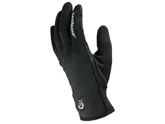 Stretch Fleece Glove - Black