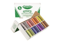 800 ct. Crayons Classpack® in 8 Colors