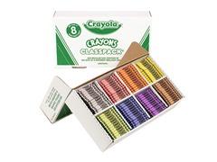 800 ct. Crayons Classpack® in 8 Colors