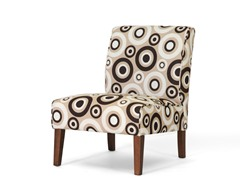 Davis Tan Accent Chair Set of 2