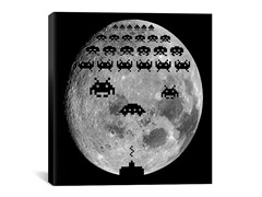 Moon Battle 18x18 Thin