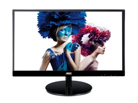 "AOC 22"" 1080p IPS LED-backlit Monitor"