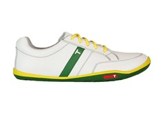 TRUE Linkswear Men's Golf Shoe, Grn/Ylw