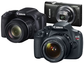 Canon Cameras: Your Choice