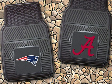 NCAA & NFL Car Mat Sets