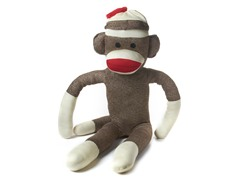 3 Foot Jumbo Sock Monkey