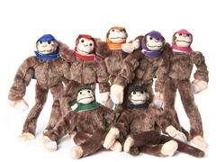 2012 Woot Monkey Games - Monkey 7-Pack