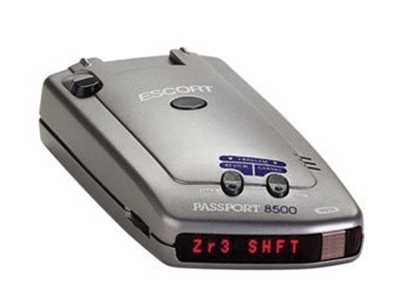 Passport Radar Detector >> Escort Passport 8500 Radar Detector