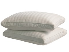 350TC Cotton Gusset Pillows 2Pk