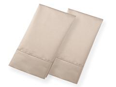 800TC 100% Cotton Pillowcases-S/2-Taupe-2 Sizes