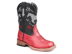 Roper Square Toe Boot W/ Horse (Tod. 5-8)