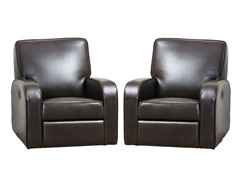 Hartfield Leather Recliner Set of 2