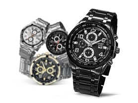 August Steiner Multifunction Watch-4 Colors