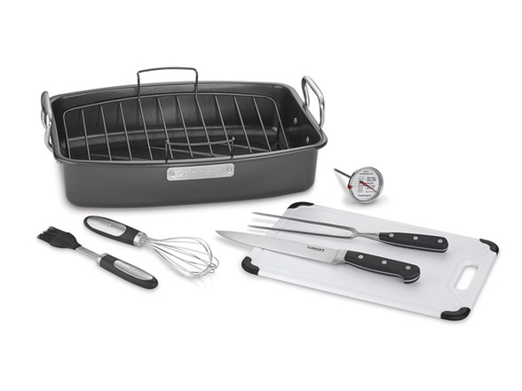 Cuisinart 8 Pc Roaster With Essential Tools