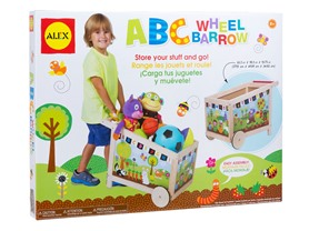 ALEX Toys ABC Garden Barrow