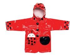 Ladybug Raincoat (2T-6X)