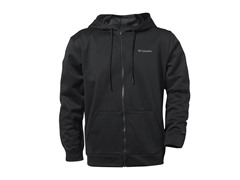 Black Full Zip w/ Columbia Logo