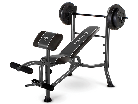 Marcy Standard Bench 80lb Weight Set